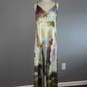NWT! Nicole Miller maxi dress! Long length maxi